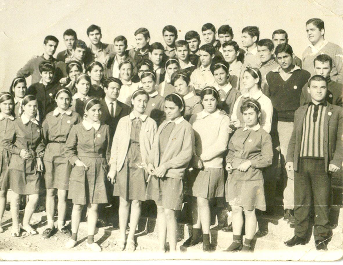 Γ' τάξη 1970 Λύκειο  Πελοπίου